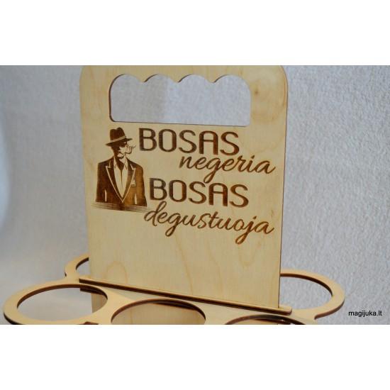"""Butelių laikiklis """"BOSAS"""""""