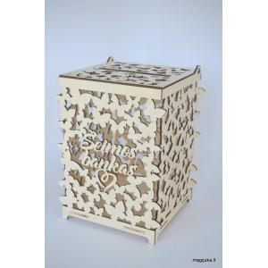 """""""Šeimos bankas"""" dėžutė vokeliams"""
