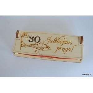 Dėžutė rašikliui 30-ojo gimtadienio proga