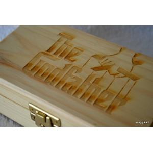 Dėžutė - kvietimas krikšto tėveliui