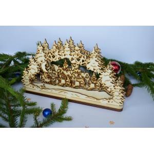3D Kalėdinė dekoracija