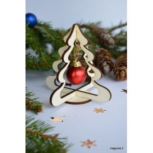 """Kalėdinė dekoracija """"Eglutė"""" žaisliukui"""