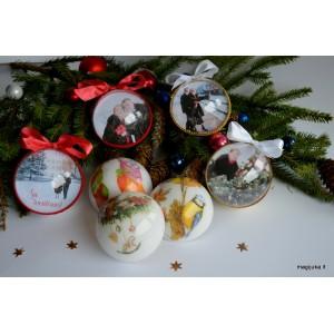 """Kalėdinis žaisliukas su nuotrauka """"Bumbulas"""""""