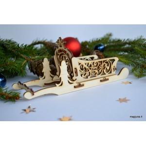 Kalėdinės rogutės kiauraraštės