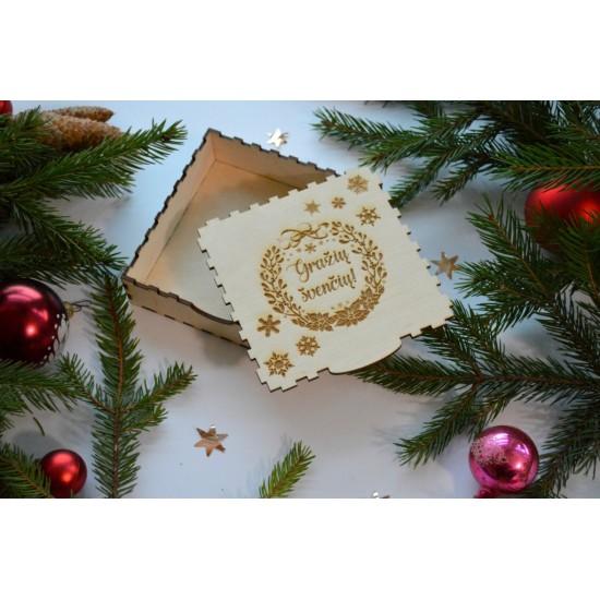 Dėžutė kalėdinėms dovanoms