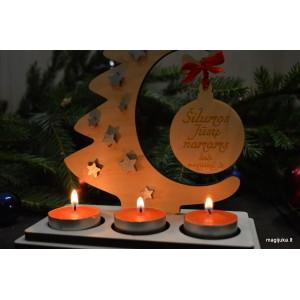 """Kalėdinė žvakidė """"Eglutė"""""""