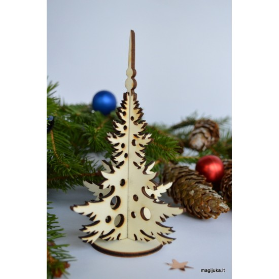 """Kalėdinė dekoracija """"Eglutė"""" maža"""