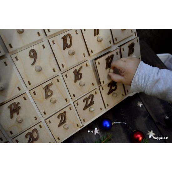 """Advento kalendorius """"Namelis"""""""