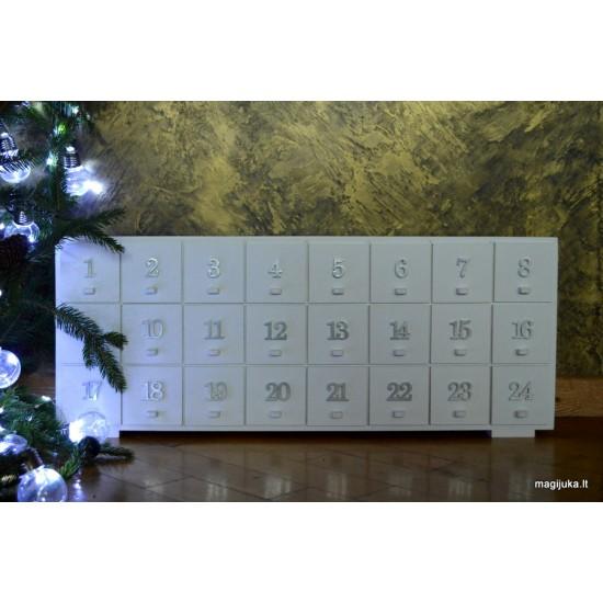 """Advento kalendorius komodėlė """"Balta"""""""
