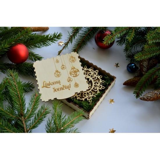 Kalėdinių padėkliukų rinkinys (6vnt.)