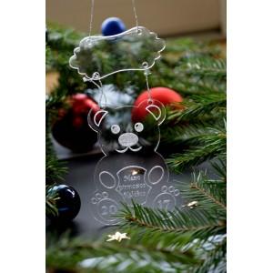 """Pirmųjų kalėdų žaisliukas """"Meškiukas"""""""