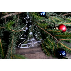 """Pirmųjų kalėdų žaisliukas """"Eglutė"""""""
