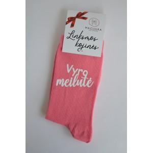 """Moteriškos kojinės """"Vyro meilutė"""""""