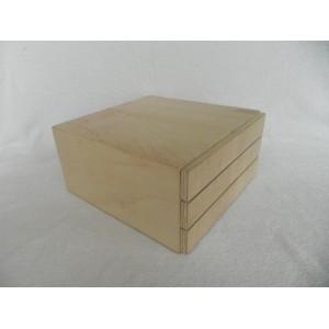Dėžutė papuošalams dekupažui