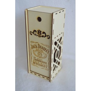 "Dėžutė buteliui ""Jack Daniel's"""
