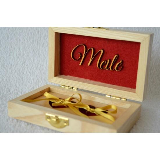 """Dėžutė žiedams """"Meilė"""""""