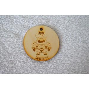 """Medalis """"Šerifas"""""""