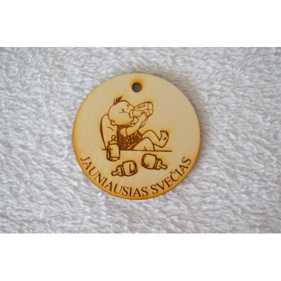 """Medalis """"Jauniausias svečias"""""""
