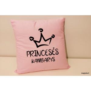 """Dekoratyvinė pagalvėlė """"Princesės kambarys"""""""