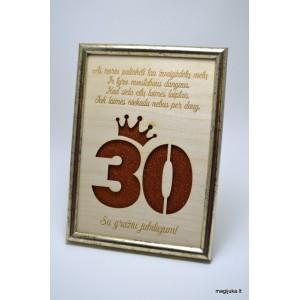30 gimtadienio sveikinimas