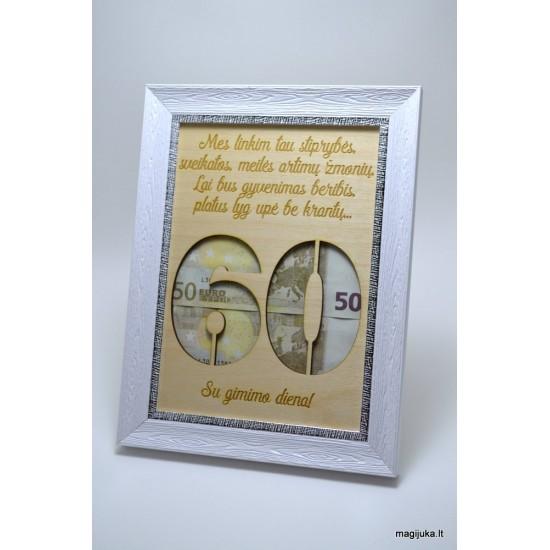 60 gimtadienio sveikinimas