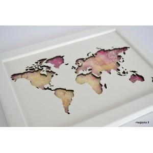 """Rėmelis """"Pasaulio žemėlapis"""""""