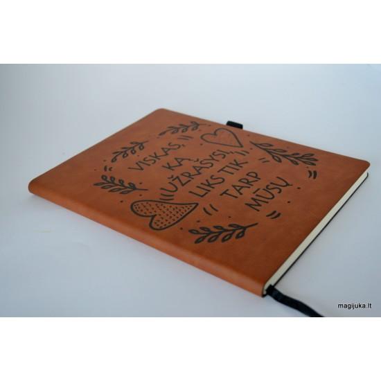 """Užrašų knygutė """"Viskas, ką užrašysi"""""""