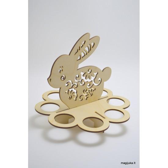 """""""Zuikis"""" dekoracija 8 kiaušiniams"""