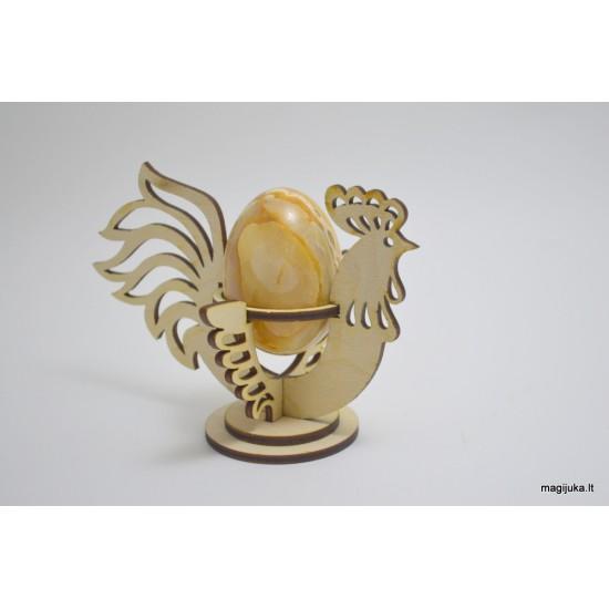 """""""Gaidys"""" dekoracija kiaušiniui"""