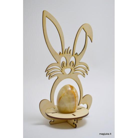 """""""Kiškis"""" dekoracija kiaušiniui"""