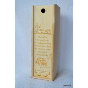 Vyno dėžė vestuvių liudininkams