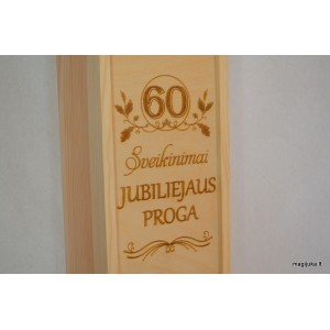 "Vyno dėžė ""60 jubiliejaus proga"""