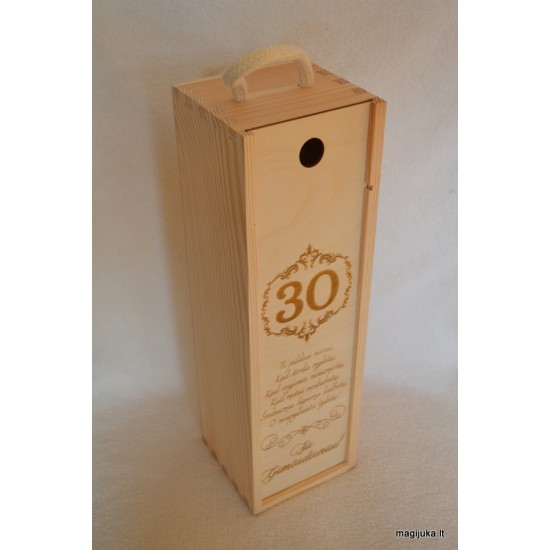 "Vyno dėžė ""30 jubiliejaus proga"""