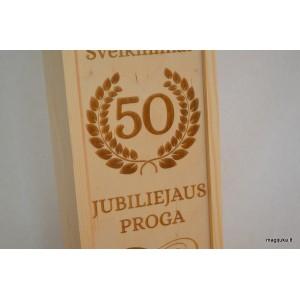 "Vyno dėžė ""50 jubiliejaus proga"""