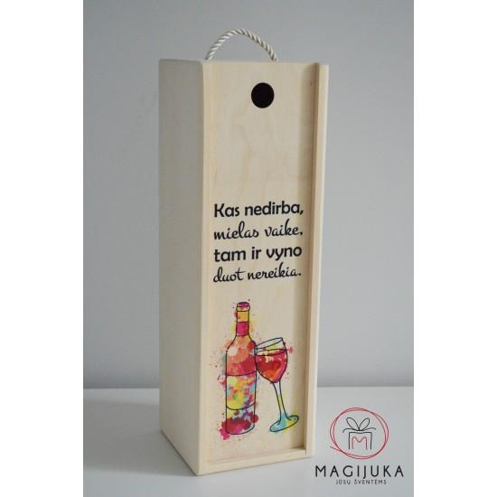 """Vyno dėžė """"Darbui"""""""