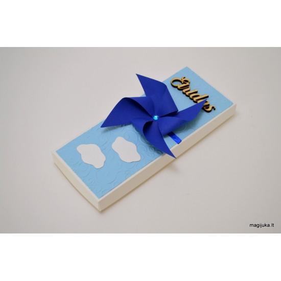 """Mėlynas kvietimas tapti krikšto tėvais """"Vėjo malūnėlis"""""""